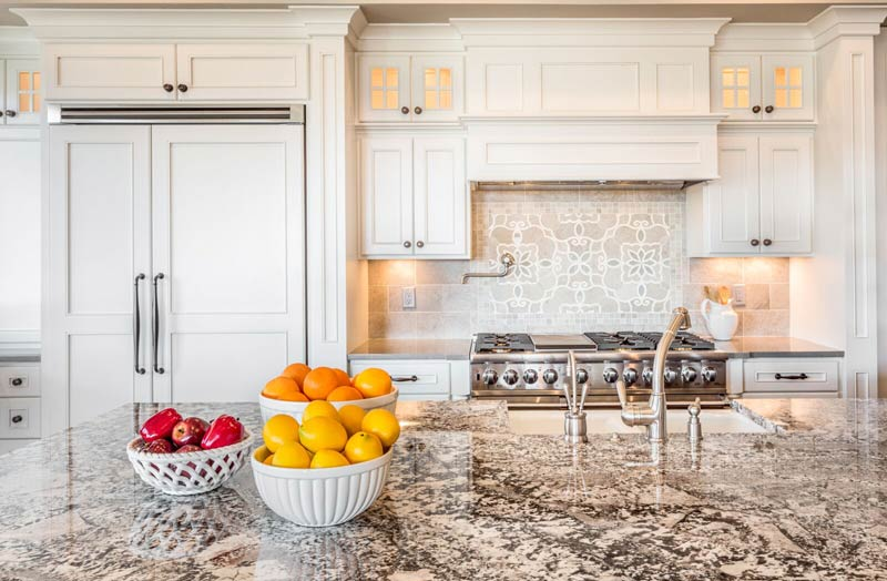 Amazing Granite Countertops Delicatas White Fort Wayne Granite Countertops  Delicatas White Fort Wayne MKD Kitchens