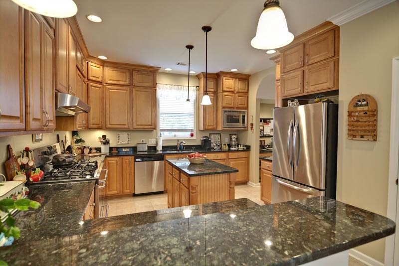 Granite Countertops Green Maple Cabinets Fort Wayne Granite Countertops  Green Maple Cabinets Fort Wayne MKD Kitchens